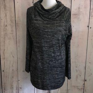 Tahari xl cowl neck sweater